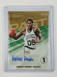 Robert Parish 2018-19 Panini NBA Absolute Memorabilia Past Autographs #62/99