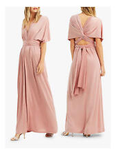 Oasis Annie Multiway Dress Mid Pink Size M