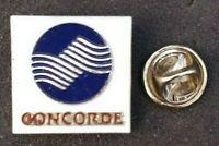 CONCORDE AIRCRAFT 1980s VTG PIN BADGE