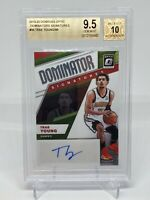 2019 Panini Optic Trae Young Dominator Signatures /99 2nd YEAR BGS 9.5 GEM MINT