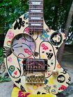 Fernandes Zo3 Nomad Art Rock Led Zeppelin III Jimmy Page Inspired Used for sale
