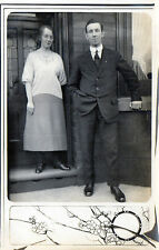 Antique Original Postcard - Boxing Day - 1922, (RP)
