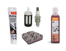 Genuine STIHL extra engine service kit for FS 90 100 130 strimmers KM filter oil