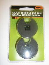 Fox Spare Discs SMALL 2pk for Multi Chod and Zig Bin Carp fishing tackle