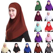 Neu Kopftuch Hijab Bone Khimar Amira Schal Islam Arabisch Orientalisch Baumwolle