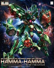 Bandai RE/100 Mobile Suit Gundam ZZ AMX-103 Hamma-Hamma 1/100 Japan NEW