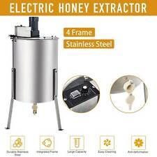 4/8 Frame Honey Extractor Beekeeping Stainless Steel Durable Honey Bee Electric
