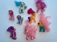 Lot Of 8 My Little Pony Very cute and in VGC