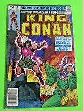 King Conan #4 Marvel Comics Bronze Age (1980) C842