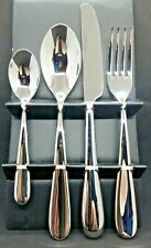 Set Table Couvert Service Inox Pas Cher Neuf Acier Inoxydable 4 Alessi Nuvo Mila