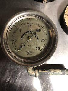 Vintage/Antique 1916 Johnson Service Controls Air Pressure Gauge
