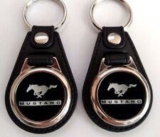 FORD MUSTANG KEYCHAIN2 PIECE BLACK