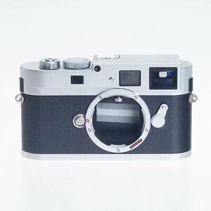 Leica M Monochrom 18MP CCD Digital Silver Rangefinder Camera 10787