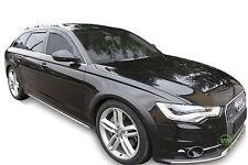 DAU10250 Audi A6 C7 Estate 2011-up Vent Déflecteurs 4pc HEKO tinted