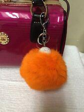 Extra Large Fashion Real Rabbit Fur Ball Key Chain Purse Charm Keyring