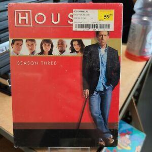 House MD Season Three 3 60% OFF 4+ DVD $2 Each