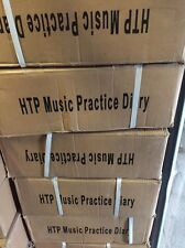 Box Of Music Practice Diarys - How To Practice By Mike Saville - Only £0.56p Ea