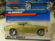 Hot Wheels '70 Chevelle Gold