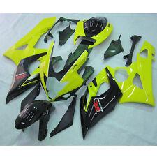 Yellow Black INJECTION ABS Fairing For SUZUKI GSXR1000 GSXR 1000 05 06 K5 11B