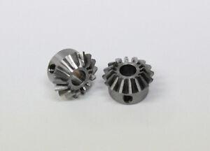 Kegelzahnrad aus Stahl, Modul 0,7, 16/16 Zähne, 1 Paar, B 6