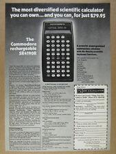 1976 Commodore SR4190R Scientific Calculator photo vintage print Ad