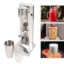 110v Milkshake Maker Commercial Mixer Stainless Steel Drink Shake Machine 650ml