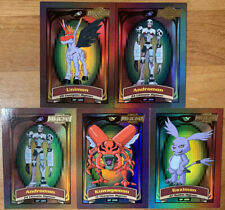 Digimon Animated Series 2 - Lot of 5 Chase Cards - D3, D4 (x2), D5, D8