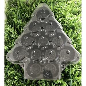 Pack of 5 or 10 Christmas Tree 12 Cupcake Cake Platter Holders
