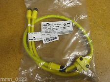 Cooper Crouse-Hinds 5000118-4018SE Micro-Mini Cable Assy 4P Male to Female NEW!!