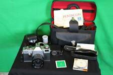 Antique Praktica 35mm Camera With Case Vintage Film Picture Lens Color Filter