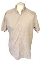 Ted Baker London Men's Casual Shirt Grey Zig Zag Size 6 Large