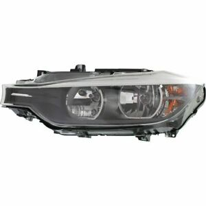FOR BMW 328I 335I 2012 2013 2014 HEADLIGHT HALOGEN LEFT DRIVER SIDE