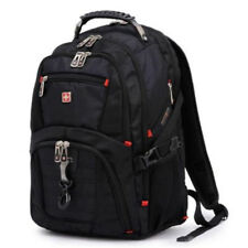Mens Swiss Army Laptop Bag Backpack 16 Travel Casual Business Schoolbag New