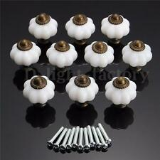 10pcs Vintage Style Door Knobs Cabinet Drawer Cupboard Kitchen Pull Handle NEW