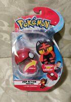 Pokemon Pop Poke Ball Action Litten + Ball