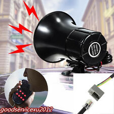 DC12V 150DB Car Electricity 7 Sound Loud Horn Warning Alarming PA Speaker System