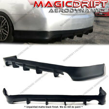 For 07-11 Toyota Camry DF Style Rear Lower Bumper Diffuser Lip Spoiler Body Kit