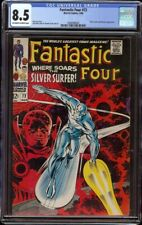 Fantastic Four # 72 CGC 8.5 OW/W (Marvel, 1968) Classic Silver Surfer cover