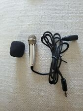 Portable Mini 3.5mm Stereo Mic Audio Microphone for cellphone, laptop, universal