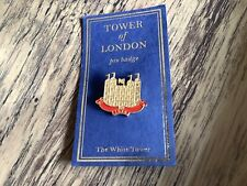 Tower of London Enamel Pin Badge The White Tower 1078 souvenir