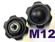 M12 Sterngriff Sternschraube Sternmutter Kreuzgriff  Klemmmutter Neu