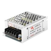 Dc 12V 5A 60W Beleuchtung Trafo LED Treiber Schalter Stromversorgung Adapter #R