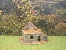 H0 1:87 Verfallenes Haus Ruine Märklin Fleischmann Diorama Modelleisenbahn #17