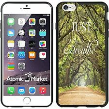 Outdoor Walkway Just Breathe For Iphone 6 Plus 5.5 Inch Case Cover