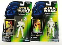Kenner Star Wars: POTF Freeze Frame Stormtrooper Luke & Skywalker Action Figures