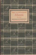IB 134 (2) - Hugo de Hofmannsthal: alkestis 1. lainadmisibilidad. 1930
