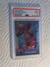Michael Jordan PSA MINT 1994-95 Topps Finest w/COATING #331