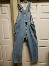 USA Mens Overalls Size 46 X 32 Grunge  Fading Holes Distressed Rockabilly