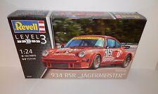 Revell 1:24 Porsche 934 RSR Jagermeister #07031 NIB - BRAND NEW RELEASE
