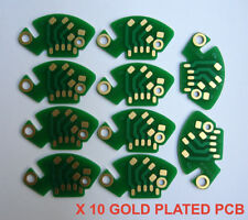 10 X GOLD PLATED Technics PHONO RCA PCB fits SL-1200/1210 MK2 M3D MK5-SFDP122-22